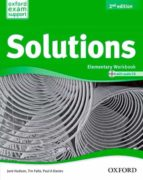 solutions elem workbook  & cd pk 2  ed 2013-9788467381986