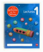 lectoescritura, la galaxia de las letras, 4 años, lecturas 1, edu cacion infantil 9788467554786