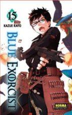 blue exorcist 15-kazue kato-9788467922486