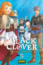 black clover 5 yuki tabata 9788467927986