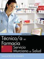 tecnico/a en farmacia. servicio murciano de salud. simulacros de examen-9788468177786