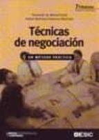 tecnicas de negociacion: un metodo practico (10ª ed.)-fernando de manuel dasi-rafael martinez-vilanova martinez-9788473566186