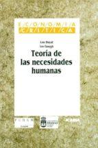 teoria de las necesidades humanas-len doyal-ian gough-9788474262186