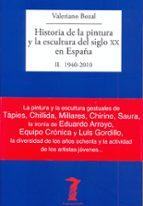 historia de la pintura y la escultura del siglo xx en españa valeriano bozal 9788477749486