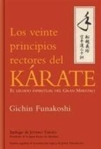 veinte principios rectores del karate-gichin funakoshi-9788479027186