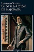 la desaparicion de majorana-leonardo sciascia-9788483830086