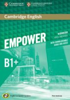 cambridge english empower for spanish speakers b1+ workbook with answers, with downloadable audio and video 9788490369586