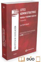civitas: leyes administrativas (2ª ed.): manual y normas basicas luis martin rebollo 9788491358886