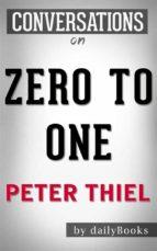 zero to one: by peter thiel   conversation starters (ebook)-9788826446486
