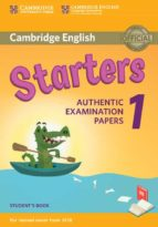 cambridge english young learners english tests (2018 exam) starters 1 student s book 9781316635896