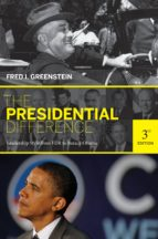 the presidential difference (ebook) fred i. greenstein 9781400833696