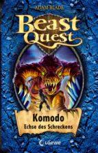 beast quest 31   komodo, echse des schreckens (ebook) adam blade 9783732009596