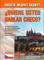 ¿quiere usted hablar checo? 1 (libro) curso elemental de checo ac tual para hispanohablantes elga cechova 9788086727196