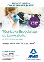 técnico/a especialista de laboratorio de instituciones sanitarias de la conselleria-9788414208496