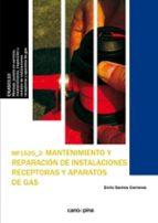 mantenimiento y rep. de inst. receptoras de gas enric santos carreras 9788416338696