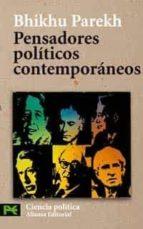pensadores politicos contemporaneos-bhikhu parekh-9788420659596