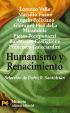 humanismo y renacimiento 9788420661896