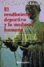 el rendimiento deportivo y la madurez humana-karlfried, graf dürckheim-9788427120396