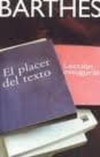el placer del texto roland barthes 9788432312496
