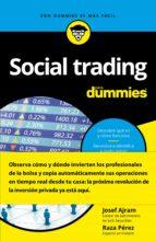 social trading para dummies-josef ajram-raza perez-9788432903496