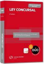 ley concursal (4ª ed.) (duo) ricardo alonso garcia 9788447047796