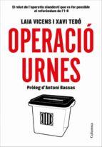 operació urnes-laia vicens-xavi tedo-9788466423496