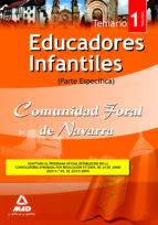 educadores infantiles de la comunidad foral de navarra. temario p arte especifica. volumen i-9788467625196