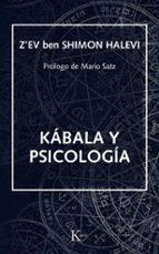 kabala y psicologia-z ev ben shimon halevi-9788472451896