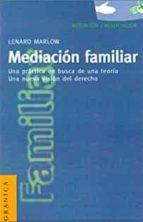 mediacion familiar leonard marlow 9788475777696