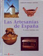 artesanias de españa v. zona centro sur guadalupe gonzalez hontoria 9788476284896