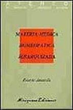 materia medica homeopatica jerarquizada ricardo ancarola 9788478130696