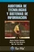 auditoria de tecnologias y sistemas de informacion-mario piattini velthuis-9788478978496