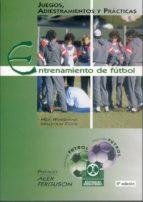 entrenamiento de futbol: juegos, adiestramiento y practicas (4ª e d.)-nick whitehead-9788480190596