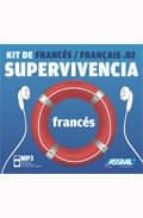 frances, kit de supervivencia (libreto + cd mp3)-gabriele kalmbach-9788496481596