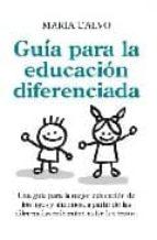 guia para una educacion diferenciada-maria calvo-9788496947696