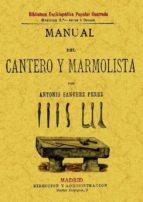 manual del cantero y marmolista (ed. facsimil) antonio perez sanchez 9788497613996