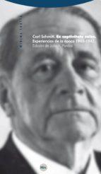 ex captivitate salus: experiencias de la epoca 1945 1947 carl schmitt 9788498791396