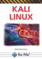 kali linux-david santo orcero-9788499647296