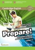 CAMBRIDGE ENGLISH PREPARE! 7 STUDENT S BOOK AND ONLINE WORKBOOK WITH TESTBANK - 9781107498006 - VV.AA.