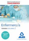 ENFERMERO/A DEL SERVICIO NAVARRO DE SALUD-OSASUNBIDEA: TEMARIO (VOL. 3) - 9788414213506 - VV.AA.