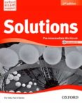 SOLUTIONS P-INT WB & CD PK 2ED - 9788467382006 - VV.AA.