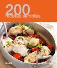 200 RECETAS SENCILLAS - 9788480769006 - VV.AA.
