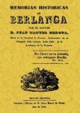 MEMORIAS HISTORICAS DE BERLANGA - 9788497613606 - JUAN MANUEL BEDOYA