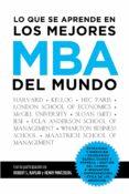 lo que se aprende en los mejores mba del mundo (ebook)-francisco javier garrido-9788498754506