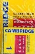 CAMBRIDGE FIRST CERTIFICATE PRACTICE TESTS 1 PACK (WITH CD + KEY) - 9789604035106 - NICHOLAS STEPHENS