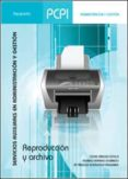 PCPI. REPRODUCCIÓN Y ARCHIVO - 9788428326216 - VV.AA.