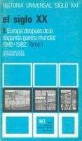 SIGLO XX (T.2, VOL. 1): EUROPA ANTETS DE LA II GUERRA MUNDIAL - 9788432305726 - WOLFGANG BENZ