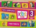 KIDS 3 AÑOS 1º TRIMESTRE ED 2013 - 9788468309026 - VV.AA.