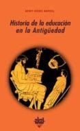 HISTORIA DE LA EDUCACION EN LA ANTIGUEDAD - 9788476000526 - HENRI-IRENEE MARROU