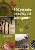 200 RECEPTES DE CUINA DEL TARRAGONES - 9788489890626 - CARME ARJONA CABELLO